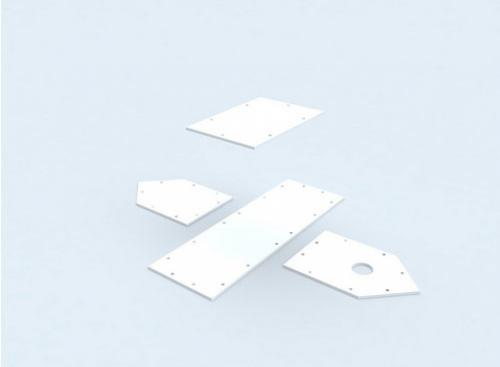 Пластиковые хомуты.  Под катом инструкция, как построить такой скворечник.  Что вам понадобится.