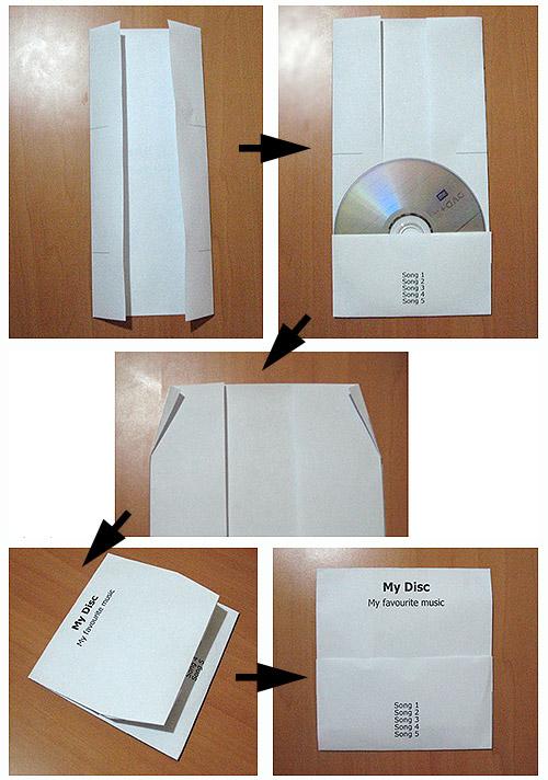 cd конверт для 1 диска: