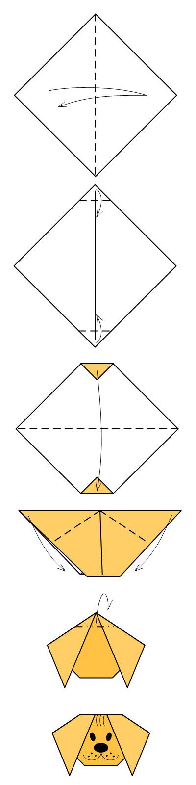 Оригами как делать поделки из бумаги 30
